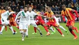 Bursaspor galibiyete hasret kaldı