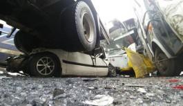 Konya'da 40 aracın karıştığı zincirleme kaza