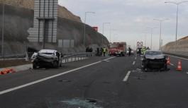 Osmangazi köprüsünde feci kaza