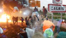Sığınmacılar polis şiddetine maruz...