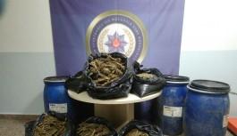 Uludağ'da gömülü uyuşturucu bulundu