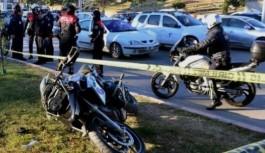 Adana'da motosikletli polisler kaza yaptı: 2 yaralı