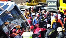 Bursa'daki kazada ölenlerin kimlikleri belli oldu