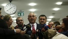 Dışişleri Bakanı Çavuşoğlu: YPG çekilmezse vuracağımızı söyledik
