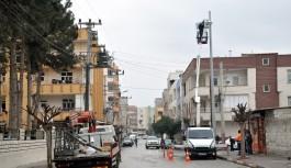 Suriye sınırına kameralı güvenlik