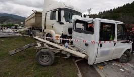 Feci kazada 1 kişi öldü, 3 kişi yaralandı