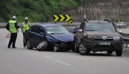 Bursa İnegöl'de kaza: 5 kişi yaralandı