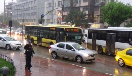 Meteoroloji'den Bursa'ya bugün için sağanak uyarısı