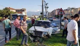Bursa'da feci trafik kazası