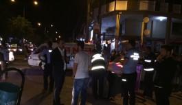 Bursa'da seyyar satıcı operasyonu