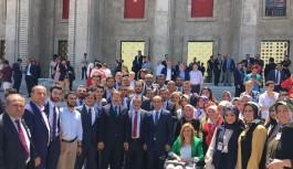 Ankara'da 'Yıldırım' sesi