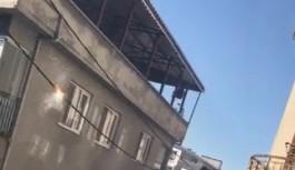 Bursa'da elektrik kabloları alev aldı