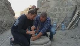 300 yıllık el değirmeni gün yüzüne çıkartıldı