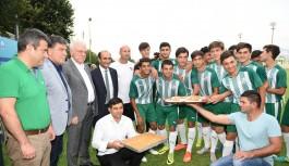 Yıldırım Belediyesi'nden Bursaspor'un geleceğine dev yatırım
