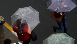 Bursa'ya sağanak yağış uyarısı
