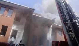 FETÖ'cülerin eski yurt binasında yangın çıktı