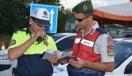 Türkiye genelinde 2 bin 821 noktada trafik denetimi
