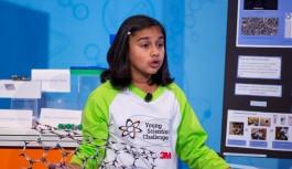 11 yaşındaki Gitanjali en genç bilim insanı seçildi