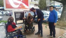 Ak gençlerdan yaşlılara anlamlı ziyaret