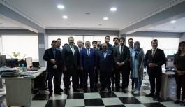 AK Parti İl Başkanı Salman'dan, Sancaktar Medya'ya ziyaret