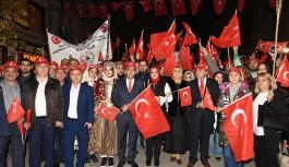 Bursa'da Cumhuriyet şöleni