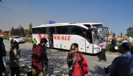 Bursa'da feci kaza! Yolcu otobüsü ile kamyon çarpıştı