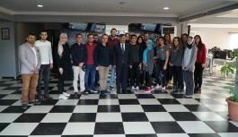 Bursa Vali Yardımcısı Avcı'dan Sancaktar Medya'ya teşekkür ziyareti