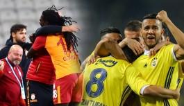 Galatasaray Fenerbahçe derbisinde golcüler mercek altında