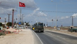 Sınıra askeri sevkiyat hızlandı