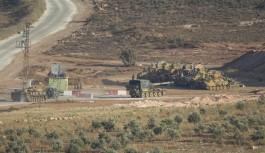 TSK İdlib'de ateşkes gözlem noktalarını güçlendiriyor