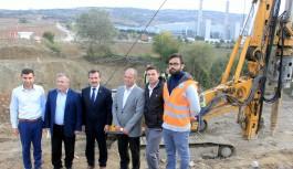 Yenişehir'den OSB'yi köylere bağlayan yeni köprü