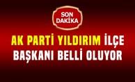 AK Parti Yıldırım ilçe başkanı belli oluyor