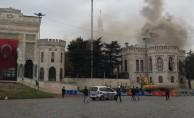 İstanbul Üniversitesi'nde yangın! Sebebi belli oldu