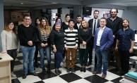 Kırgız Gazetecilerden Bursa TV'ye ziyaret