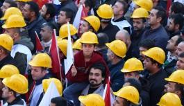 Madencilerden torba yasa tepkisi