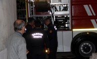 Samsun'da bir evde yangın çıktı