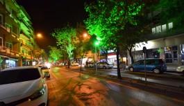 Tayyareci Mehmet Ali Caddesi ışıl ışıl oldu