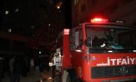 14 katlı binada yangın çıktı