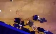3 Genç sokak ortasında bıçaklı saldırıya uğradı