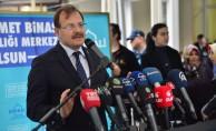 Başbakan Yardımcısı Çavuşoğlu Yıldırım'da sağlık merkezi açılışına katıldı