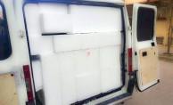 Bomba yüklü minibüsün fotoğrafları ortaya çıktı