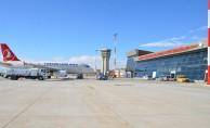 Selahaddin Eyyubi Havalimanı'nı 10 ayda 128 bin üzerinde yolcu kullandı