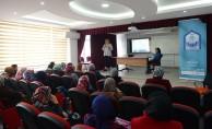 Velilere madde bağımlılığı semineri