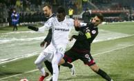 Ziraat Türkiye Kupası: Gençlerbirliği: 1 - Bursaspor: 0 (İlk yarı)
