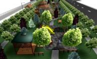 Bursa'daki kentsel dönüşüm alanına modern park