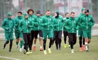 Bursaspor'da Başakşehir hazırlıkları başladı