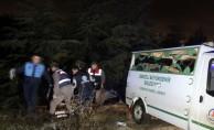 Feci kaza! Otomobil şarampole yuvarlandı: 1 ölü, 5 yaralı