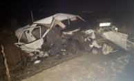 Feci trafik kazası: 2 ölü, 4 yaralı