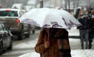 Meteoroloji'den bazı bölgelere kar uyarısı