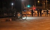 Polis merkezinin yakınında şüpheli paket alarmı